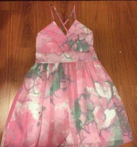 Платье шифоновое Адилиши