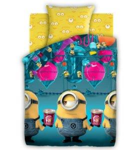 Детское постельное белье миньоны