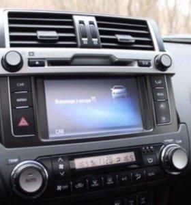 Магнитола для Toyota Prado 150. 2016 года