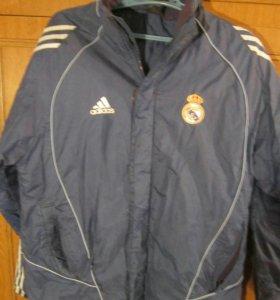 Куртка мегабренд Adidas Real Madrid