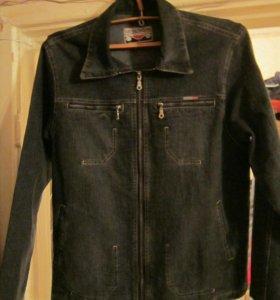 Фирменная джинсовая куртка (новая, Турция)