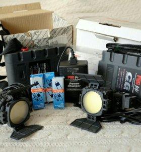 Paglight C6 Kit накамерный свет 2 комплента+