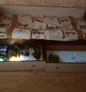 Диван шкаф купе односпальная кровать