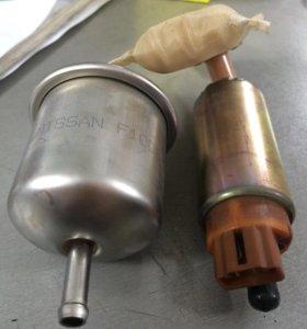 Топливный насос и фильтр