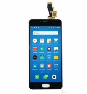 Дисплей для Meizu M3s mini с тачскрином, чер.