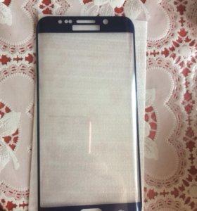 Защитное стекло на Самсунг S6 edge plus
