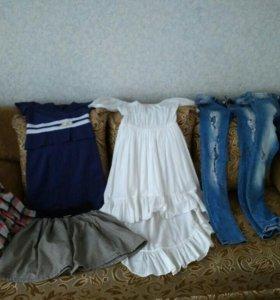 Продам платья, юбку, джинсы