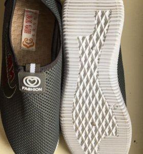 Новые летние кроссовки