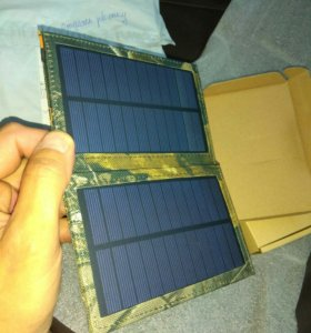 Солнечная панель- зарядка 1 ампер