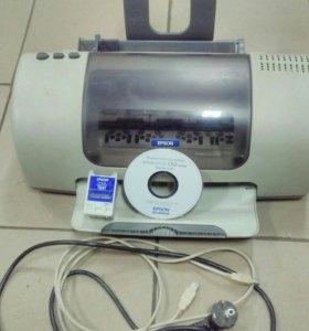 Принтер струйный EPSON C 62