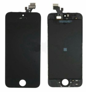 Дисплей для iPhone 5 с тачскрином, чер.