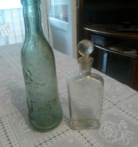 Бутылочки колекционные цена за обе