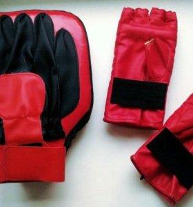 Набор: лапа и перчатки.