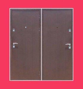 "Входные двери ""Стройгост 7-2 металл/металл"""
