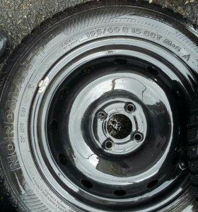 R15 Комплект летних колес+2 зимние покрышки