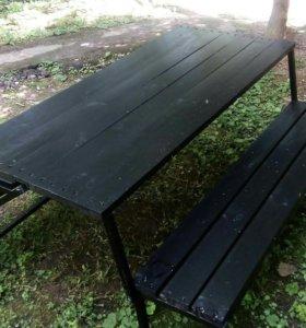 Садовая скамейка - транформер