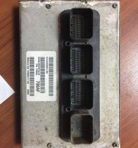Блок управления двигателем с косой на газ Крайслер