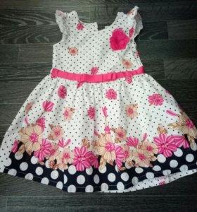 Платье на девочку 3-5 лет