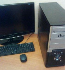Системный блок + монитор 23