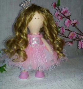 Кукла розовая нежнасть.