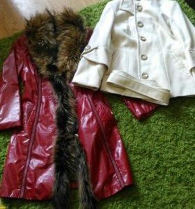 Пакет верхней одежды пальто р.42-44