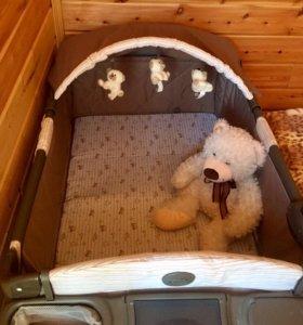 Манеж кровать Graco