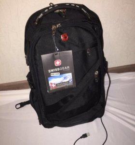 Новый фирменный рюкзак SwissGear с USB