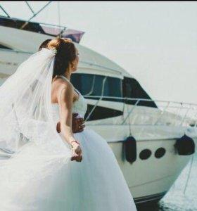 Шикарное свадебное платье!👰🏼