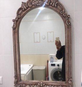 Зеркало из мрамора