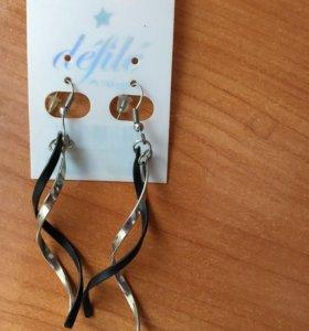 Серьги и браслеты (11 шт)