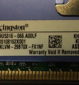 Kingston HYPER DDR2 2x2gB