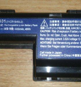 Оригинальная батарейка ноутбука Acer