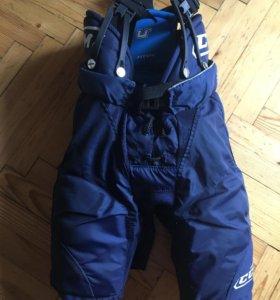 Хоккейные шорты на мальчика 6-10 лет