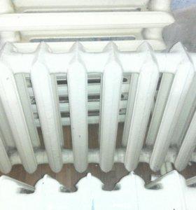 Чугунные батареи 10 секций
