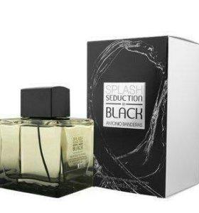 Antonio Banderas Splash Seduction In Black 100мл.