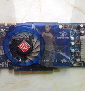 Radeon HD 3850, 512 Mb GDDDR3 256bit, Sapphire