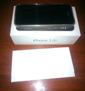 iPhone5s GRay 32GB. Корпус 7го Айфона. Документы.