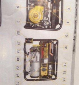 Прокат генератора hutter 2,5 кВт