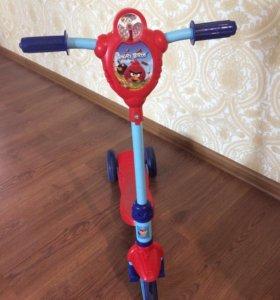 Самокат 1 Toy Angry Birds