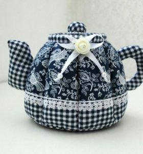 Текстильный чайник-шкатулка
