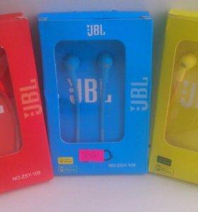 Наушники JBL ( вакуумные )