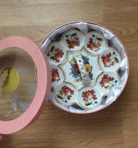 Поднос для яиц из фарфора