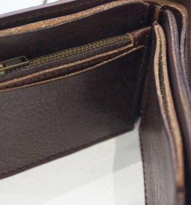 Портмоне мужской / мото кошелёк