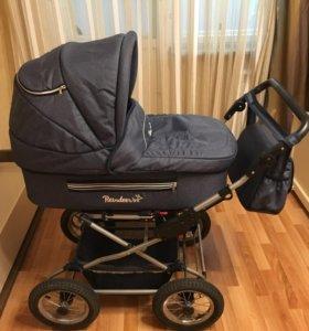 Детская коляска Reindeer Style Len (синий)