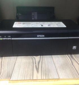 Epson l800 отличное стостояние