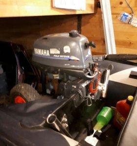Мотор Yamaha 4л.с. 4 тактный