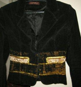 Пиджак велюровый, жакет