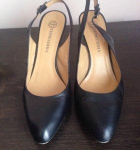 Туфли Терволина, натуральная кожа, 38 р-р