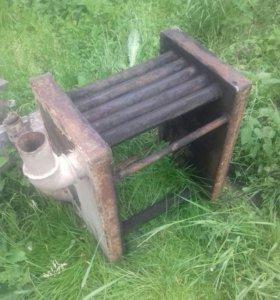 Котёл водяного отопления для дровяной печи б/у