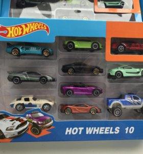 Машинки Hot Wheels 10 в 1 / Автовоз